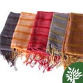 Hadong Striped Silk Scarf (Vietnam)