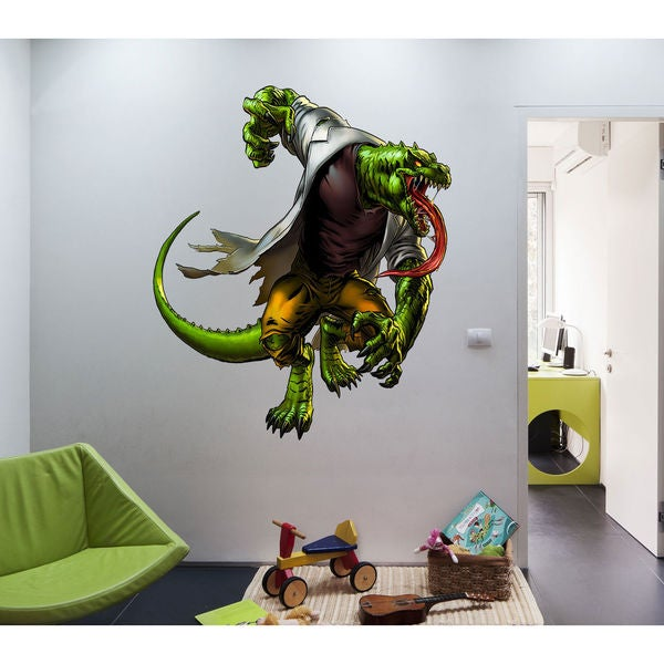 Full color decal Monster lizard sticker, Monster lizard wall art decal  Sticker Decall size 48x65 23180171