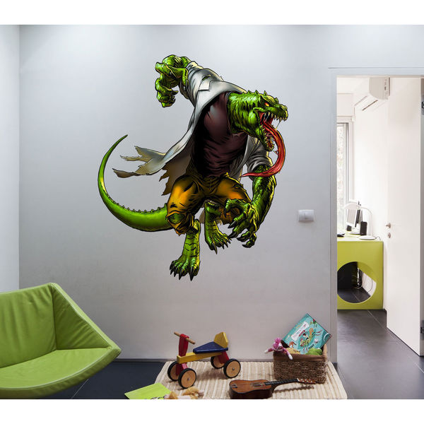 Full color decal Monster lizard sticker, Monster lizard wall art decal Sticker Decal size 22x30 23180176
