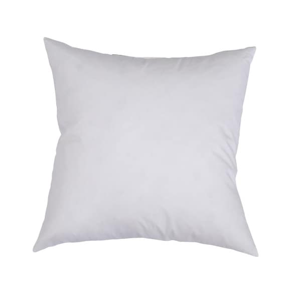 Downlite Feather and Down Decorator Euro Square Throw Pillow Insert 22x22(As Is Item) 23190539