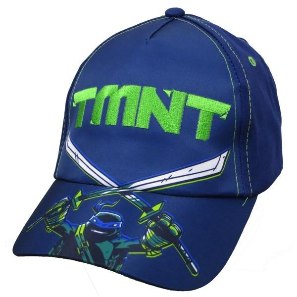 Nickelodeon Boys' Teenage Mutant Ninja Turtles TMNT Leonardo Blue Cotton Baseball Cap 23191926