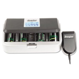 Energizer Family Battery Charger Multiple Battery Sizes