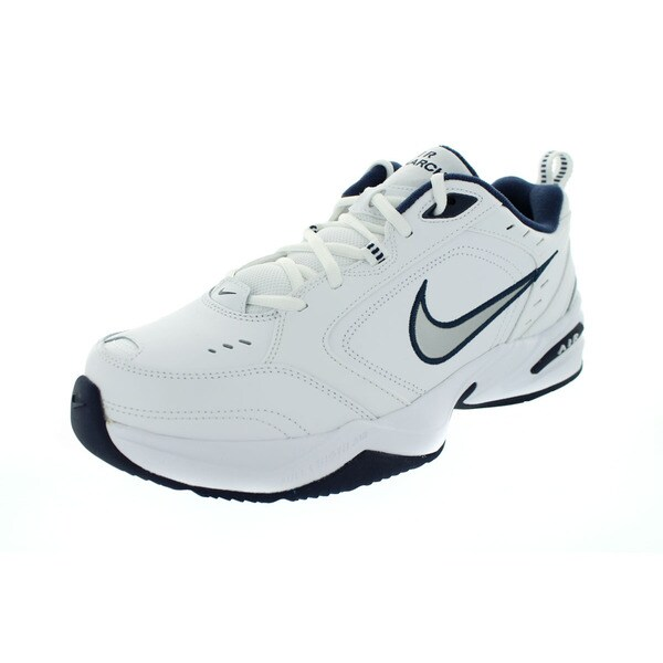 Nike Men's Air Monarch IV (4E) White Synthetic Leather Training Shoes 23194335