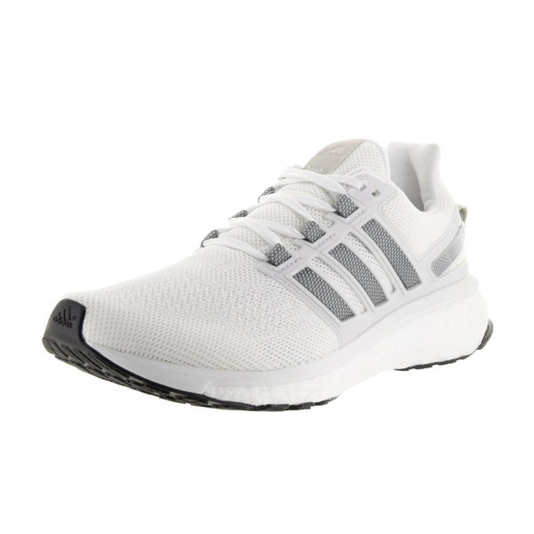 Adidas Men's Energy Boost 3 White Running Shoe 23195143