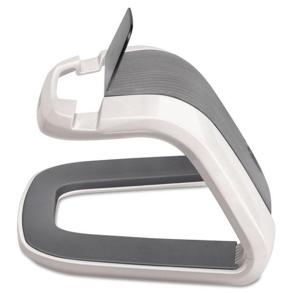 Fellowes Tablet Riser 8 7/16 x 5 7/16 x 4 5/8 White/Grey 23198177