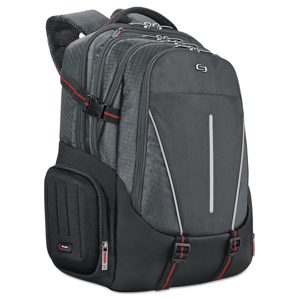 Solo Active Laptop Backpack 17.3 inches 12 1/2 x 6 1/2 x 19 Black 23198337