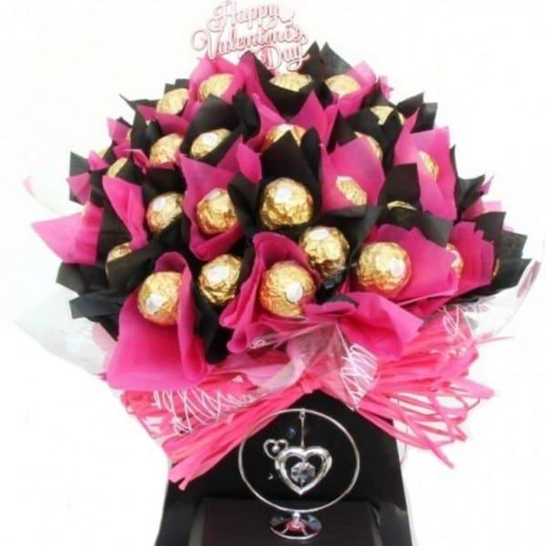 Valentine Ferrero Rocher Chocolate Bouquet