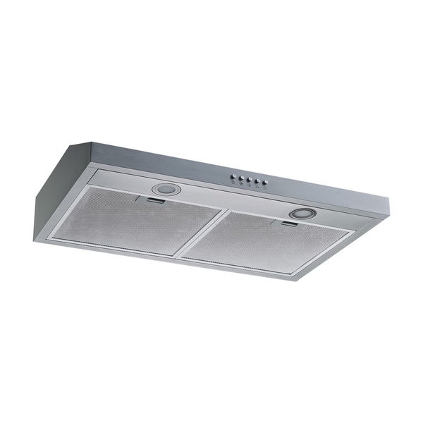 Winflo O-W108C30 30-inch Stainless Steel Ducted Under Cabinet Range Hood 23213481