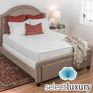 Select Luxury Flippable Medium Firm 10-inch Queen-size Foam Mattress