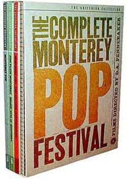 The Complete Monterey Pop Festival Box Set (DVD)