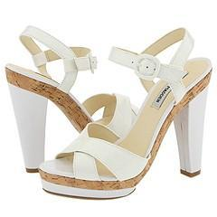 Steve Madden Steammy White Patent Sandals