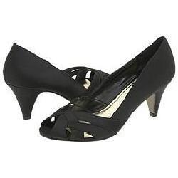 Steve Madden Seccco Black Satin Pumps/Heels