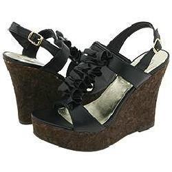 Steve Madden Quantumm Black Sandals