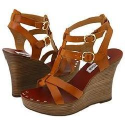 Steve Madden Quinella Tan Leather Sandals