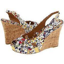 Steve Madden Crazzy Floral Multi Sandals