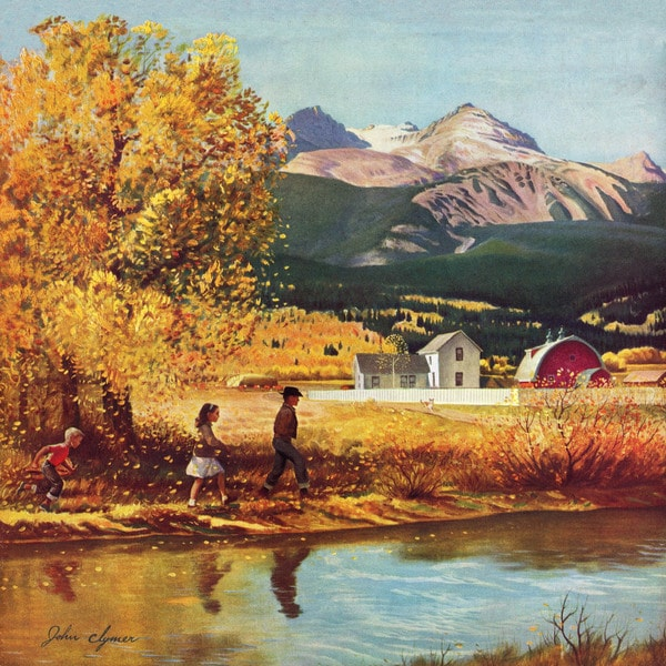Marmont Hill - 'Colorado Creek' Painting Print on Wrapped Canvas 23230599