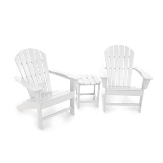 POLYWOOD® South Beach Adirondack Chair 3-Piece Set