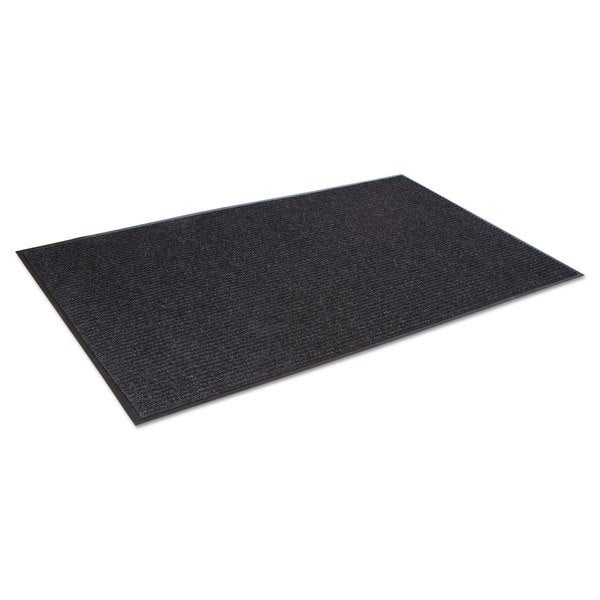 Crown Needle Rib Wipe & Scrape Mat Polypropylene 36 x 60 Charcoal 23234264