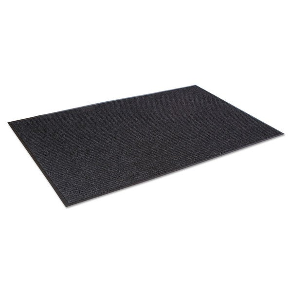 Crown Needle-Rib Wiper/Scraper Mat Polypropylene 48 x 72 Charcoal 23234265