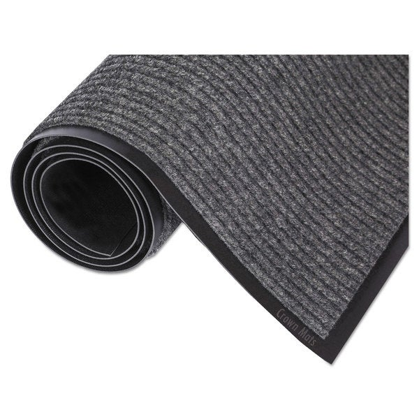 Crown Needle Rib Wipe and Scrape Mat Polypropylene 36 x 120 Grey 23234322