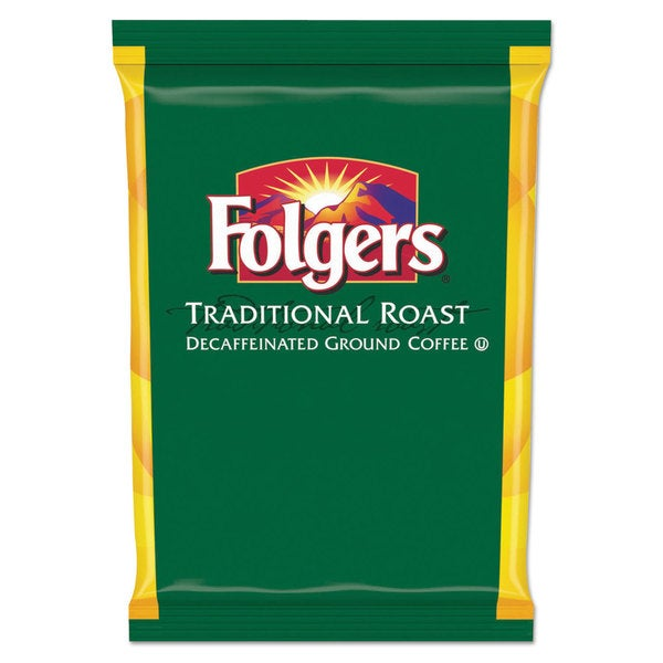 Folgers Traditional Roast Filter Packs Decaf 1.5-ounce Pack 42/CartonBox 23234858