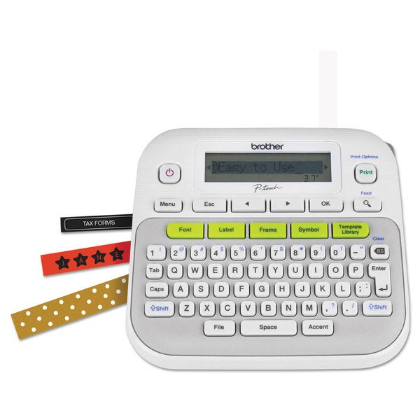 Brother P-Touch PT-D210 Easy Compact Label Maker 2 Lines 23244471