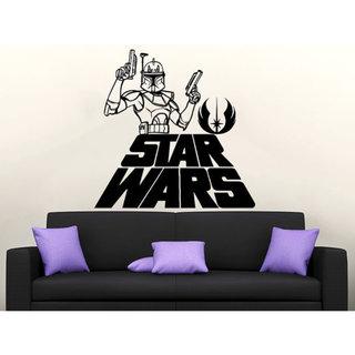Star Wars Logo Boba Fett Vinyl Sticker Decals Nursery Baby Room Home  Sticker Decal size 44x52 Color Black 23259107