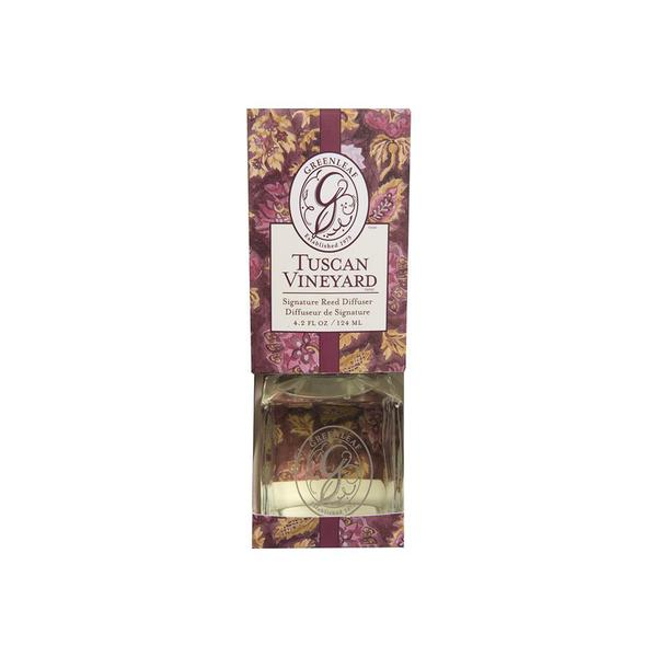 Greenleaf Signature Reed Scented Oil Diffuser Tuscan Vineyard Gift Set 23271858