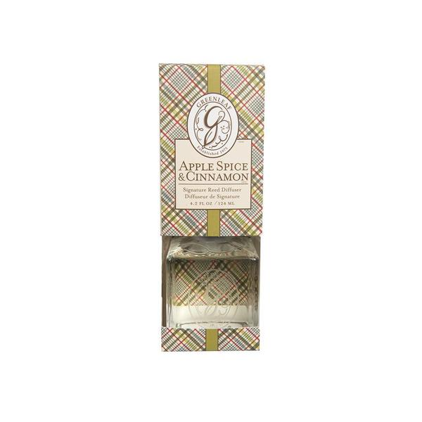 Greenleaf Signature Reed Diffuser Scented Oil Apple Spice & Cinnamon Gift Set 23271893