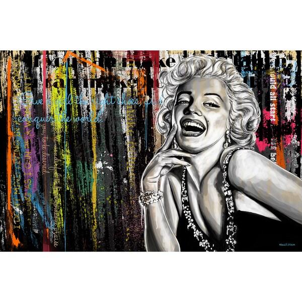 Maxwell Dickson Limited Edition 'Marilyn Monroe' Wall Art 23281342