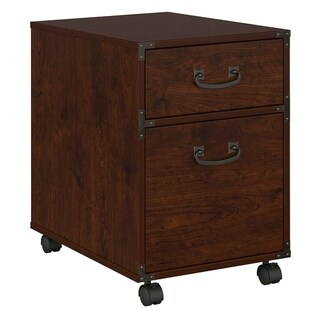Ironworks Mobile File Cabinet from kathy ireland Home by Bush Furniture