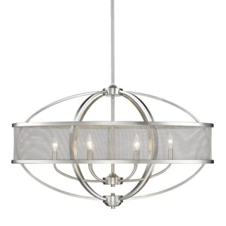 Colson PW Linear Pewter-finish Pendant Light