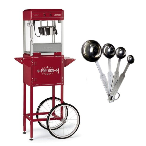 Cuisinart CPM2500 Kettle Style Popcorn Maker With Trolly and Measuring Spoons 23339413