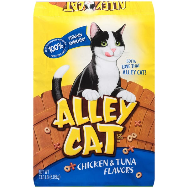 Alley Cat Chicken & Tuna Flavored Alley Cat Cat Food 23339442