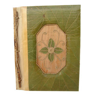 Handmade Flower Lotus Leaves Photo Album (Indonesia)