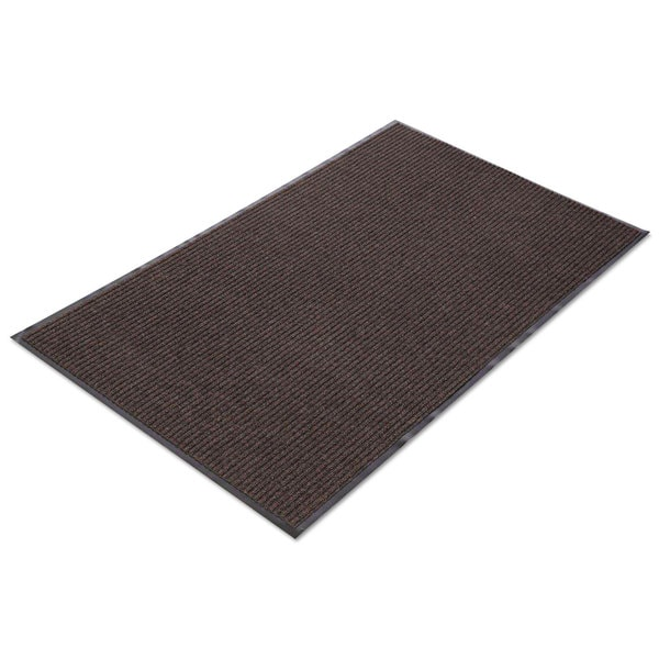 Crown Needle Rib Wipe & Scrape Mat Polypropylene 36 x 120 Brown 23345512