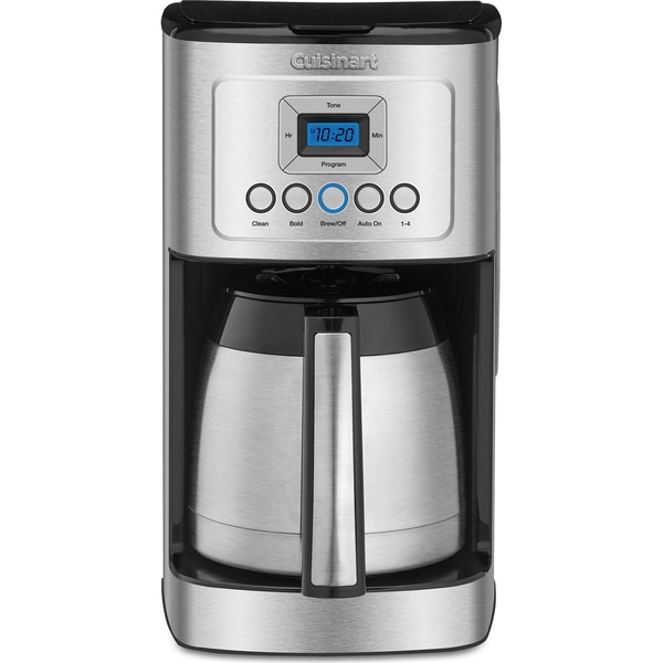 Cuisinart 12-Cup Programmable Thermal Coffeemaker, Black/Stainless 23352974