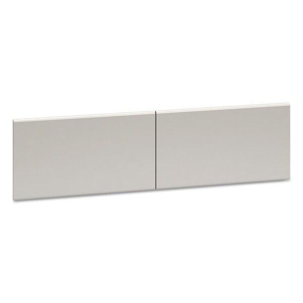 HON 38000 Series Hutch Flipper Doors For 60-inch wide Open Shelf 30-inch wide x 15h Light Grey 23354835