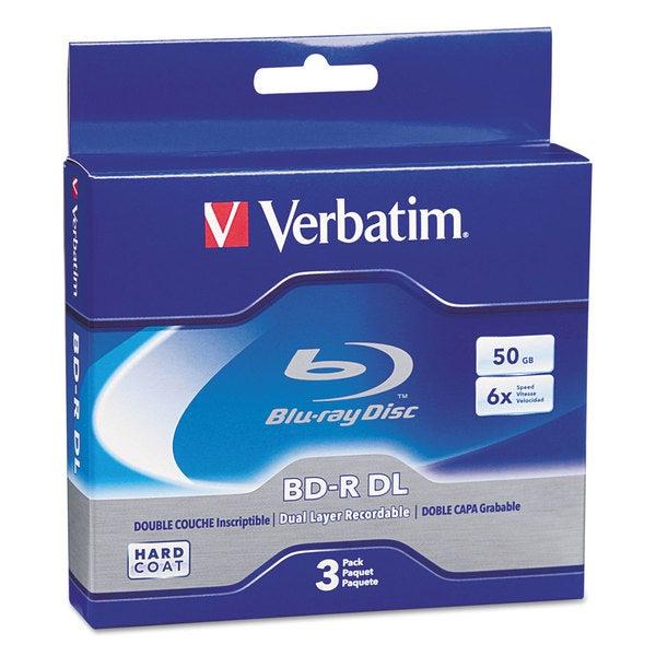 Verbatim Blu-Ray BD-R Dual-Layer 50 GB 3/Pack 23354971