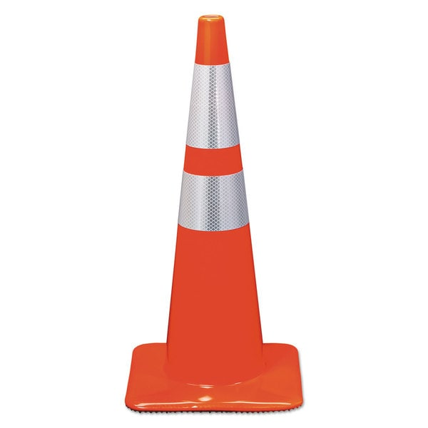 3M Reflective Safety Cone 12 3/4 x 12 3/4 x 28 Orange 23361591