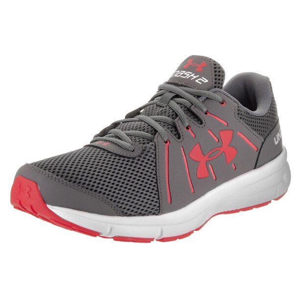 Under Armour Men's Dash Rn 2 Grey Synthetic-leather Running Shoes 23373819