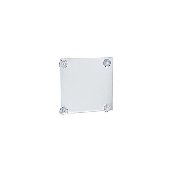 Azar 106626 5.5 W x 8.5 H Sign Frame with suctin cups, 2Pack 23374696