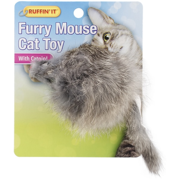 Medium Mouse with Catnip Cat Toy 23376789