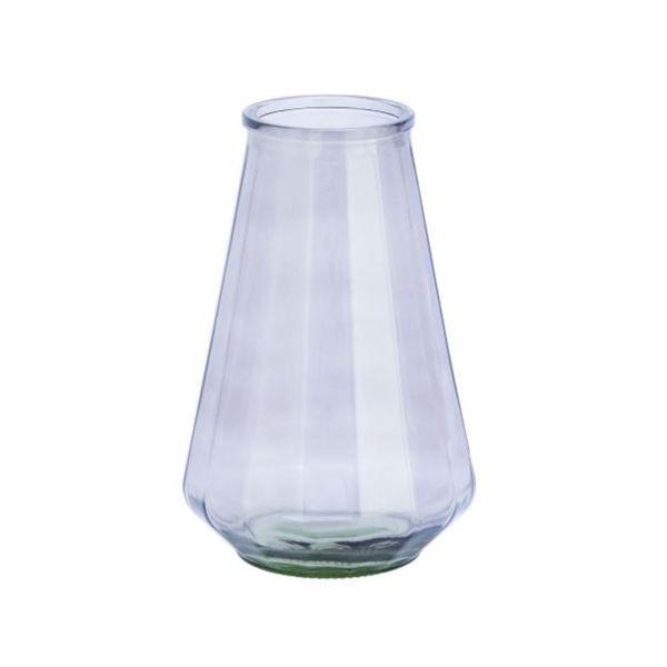Benzara Glass 8-inch x 13-inch Vase 23458592