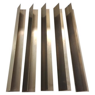 5pk Replacement Long Lasting Stainless Steel Flavorizer Bars, Fits Weber Grills, Compatible with Part 7535, 21.5 x 1.875 x 1.875