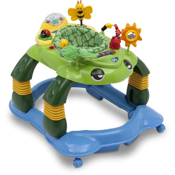Delta Children Mason the Turtle Lil' Play Station 3-in-1 Activity Walker 23460342