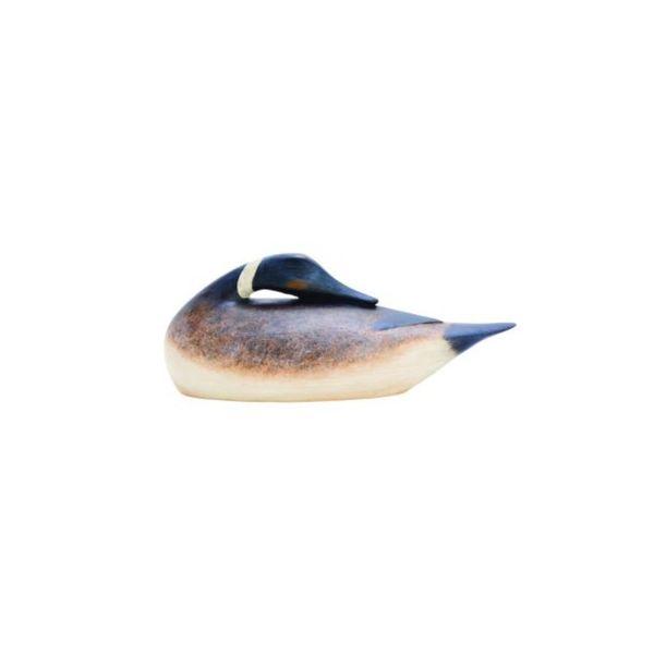 Benzara Multicolor Polystone Decorative Duck Figurine 23478272