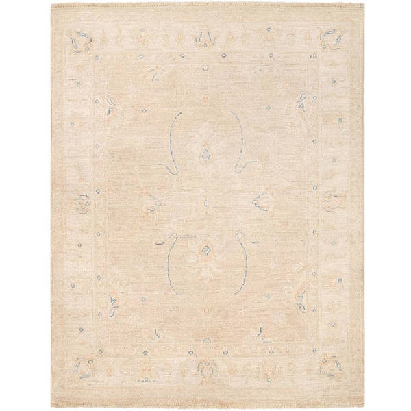 Herat Oriental Afghan Hand-knotted Vegetable Dye Oushak Wool Rug (3'2 x 4'1) - 3'2 x 4'1 23499518