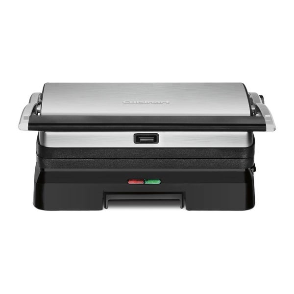 Cuisinart Griddler Grill and Panini Press (Refurbished), Brushed Stainless 23515920