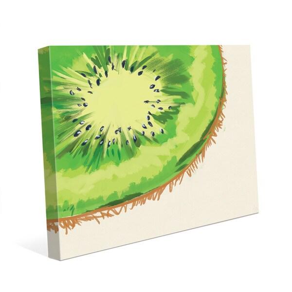 'Kiwi Crop Base' Canvas Wall Art Print